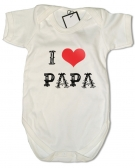 Body I LOVE PAPA TATTO WC