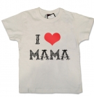 Camiseta I LOVE MAMA TATTO WC