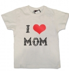 Camiseta I LOVE MOM TATTO WC