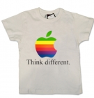 Camiseta THINK DIFFERENT WMC