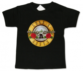 Camiseta LOGO GUNS N ROSES BLACK BMC