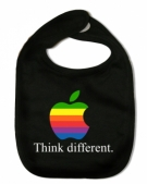 Babero THINK DIFFERENT B.