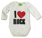Body bebé I LOVE ROCK WMC