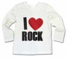 Camiseta I LOVE ROCK WML