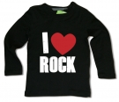 Camiseta I LOVE ROCK BML