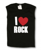 Camiseta I LOVE ROCK TB