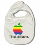 Babero THINK DIFFERENT W.