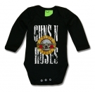 Body bebé GUNS N´ROSES GRAY BML
