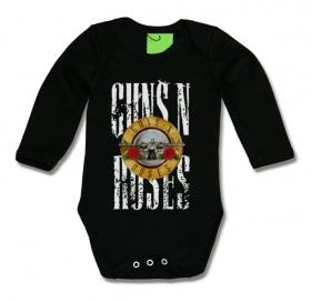 ropa de bebe guns and roses