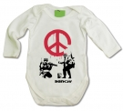 Body bebé BANKSY PEACE WML