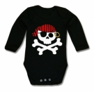 Body bebé JOLLY ROGER RING BML
