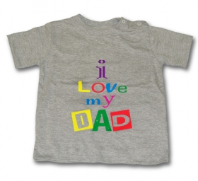 Camiseta I LOVE MY DAD GMC