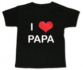 Camiseta I LOVE PAPA BMC