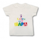 Camiseta I LOVE MY PAPA WMC