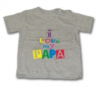 Camiseta I LOVE MY PAPA GMC
