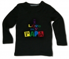Camiseta I LOVE MY PAPA BML