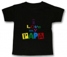 Camiseta I LOVE MY PAPA BMC