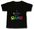 Camiseta I LOVE MY MAMA BMC