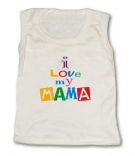 Camiseta I LOVE MY MAMA TW