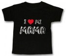 Camiseta I LOVE MI MAMA BMC