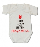 Body KEEP CALM AND LISTEN HEAVY METAL WMC
