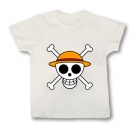 Camiseta JOLLY ROGER EXPLORADOR -ONE PIECE WMC