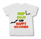 Camiseta KEEP CALM AND HAPPY HALLOWEEN WMC