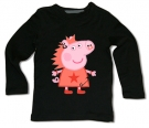 Camiseta PEPPA PUNK BLACK BML