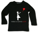 Camiseta BANKSY THERE IS ALWAYS HOPE BML