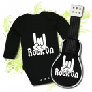 GUITARRA DE PAÑALES ROCK ON! BBL