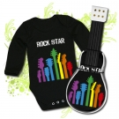 GUITARRA DE PAÑALES ROCK STAR BBML