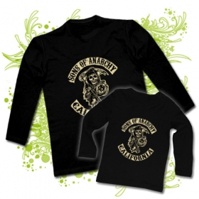 CAMISETA PAPA SONS OF THE ANARCHY CALIFORNIA + CAMISETA SONS OF THE ANARCHY CALIFORNIA BL