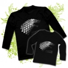 CAMISETA PAPA WINTER IS COMING + CAMISETA WINTER IS COMING BL