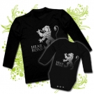 CAMISETA PAPA HEAR ME ROAR + BODY HEAR ME ROAR BL