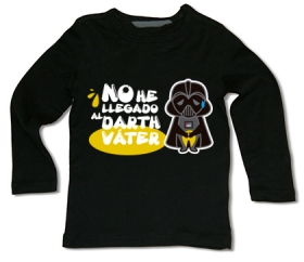 Camiseta NO HE LLEGADO AL DARTH VÁTER! BML