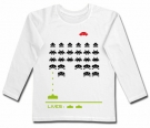 Camiseta SPACE INVADERS WHITE WML