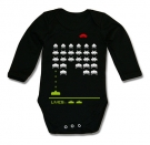 Body SPACE INVADERS BLACK BML