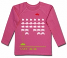 Camiseta SPACE INVADERS PINK CHML
