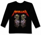 Camiseta METALLICA TWO SKULLS BML