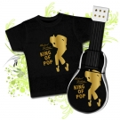 GUITARRA DE PAÑALES MICHAEL JACKSON KING OF POP CBC