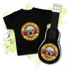 GUITARRA DE PAÑALES GUNS N´ROSES TWO CBC