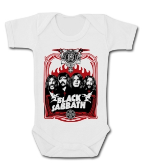 Body bebé BLACK SABBATH FOUR WMC