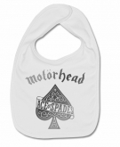 Babero MOTORHEAD ACE OF SPACES SILVER W.