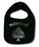 Babero MOTORHEAD ACE OF SPACES SILVER B.