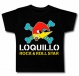 Camiseta LOQUILLO ROCK & ROLL STAR