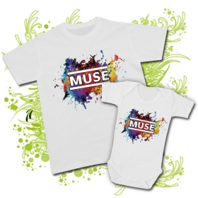 CAMISETA PAPA MUSE + BODY MUSE WC