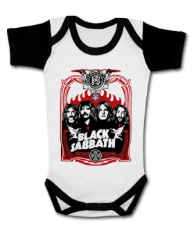 Body bebé BLACK SABBATH FOUR WWMC