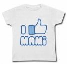 Camiseta FACEBOOK I LIKE MI MAMI WMC