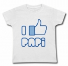Camiseta FACEBOOK I LIKE MI PAPI WMC