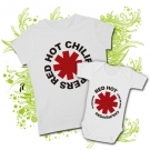 CAMISETA MAMA RED HOT CHILI PEPPERS II + BODY YO ESCUCHO RED HOT CHILI PEPPERS COMO MI MAMI BWMC
